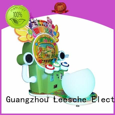 Leesche vivide multi game arcade machine easy operated on the street