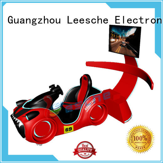 Leesche dynamic car racing simulator suitable for people from age 10 to 45 on the street