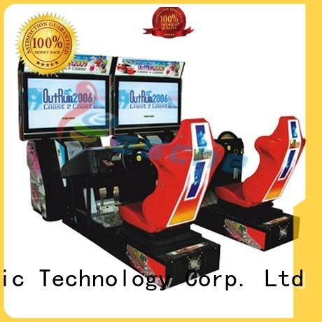 Leesche vivide vintage arcade game machines easy operated in Shopping mall