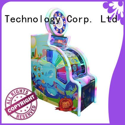 Leesche vivide arcade video game machines in the park