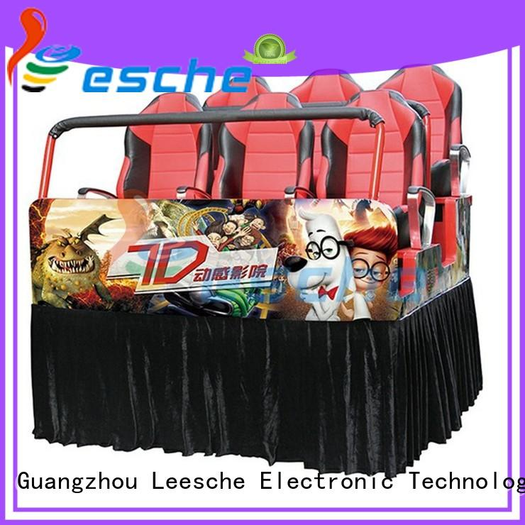 Leesche truck 5d cinema equipment price inspiring your imagination in Shopping mall