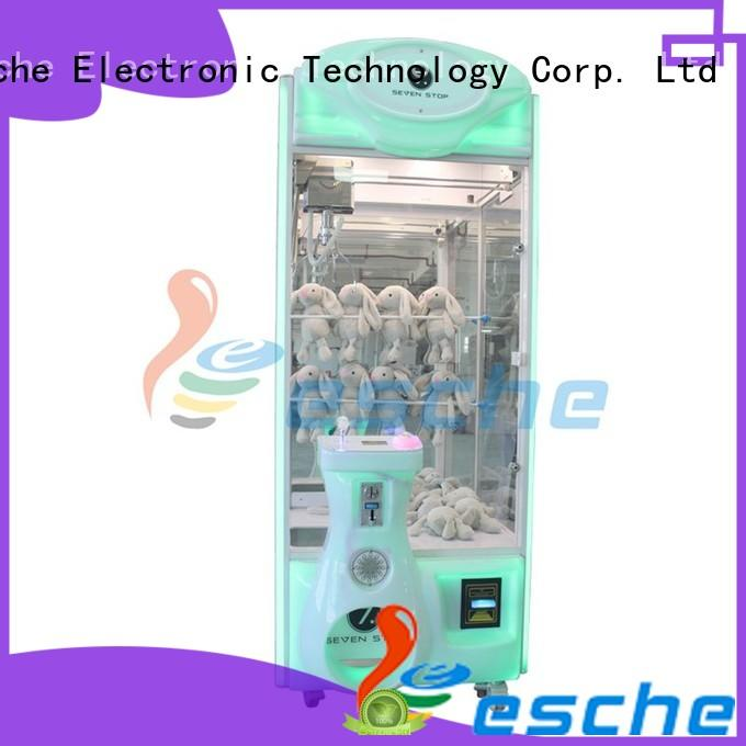 Leesche claw claw crane machine with lock in Shopping mall