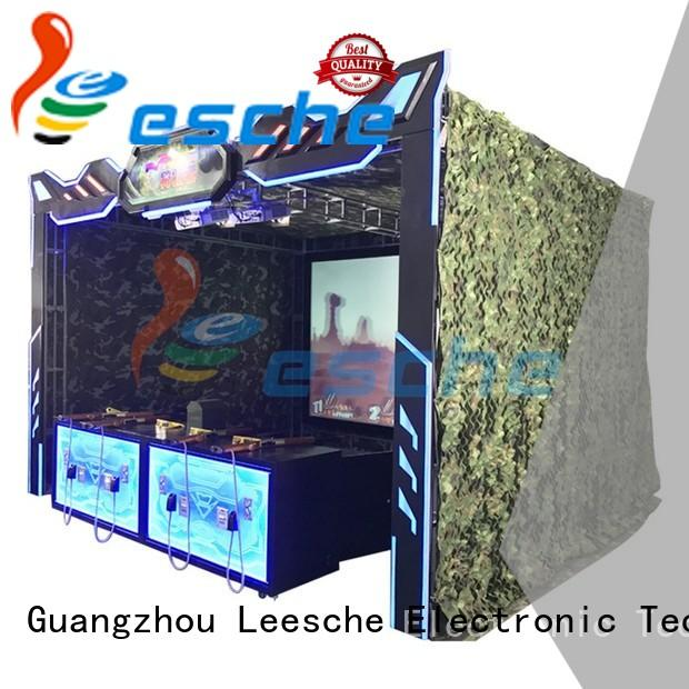Leesche 3d new hunting games support multi-person connected together to play on the street