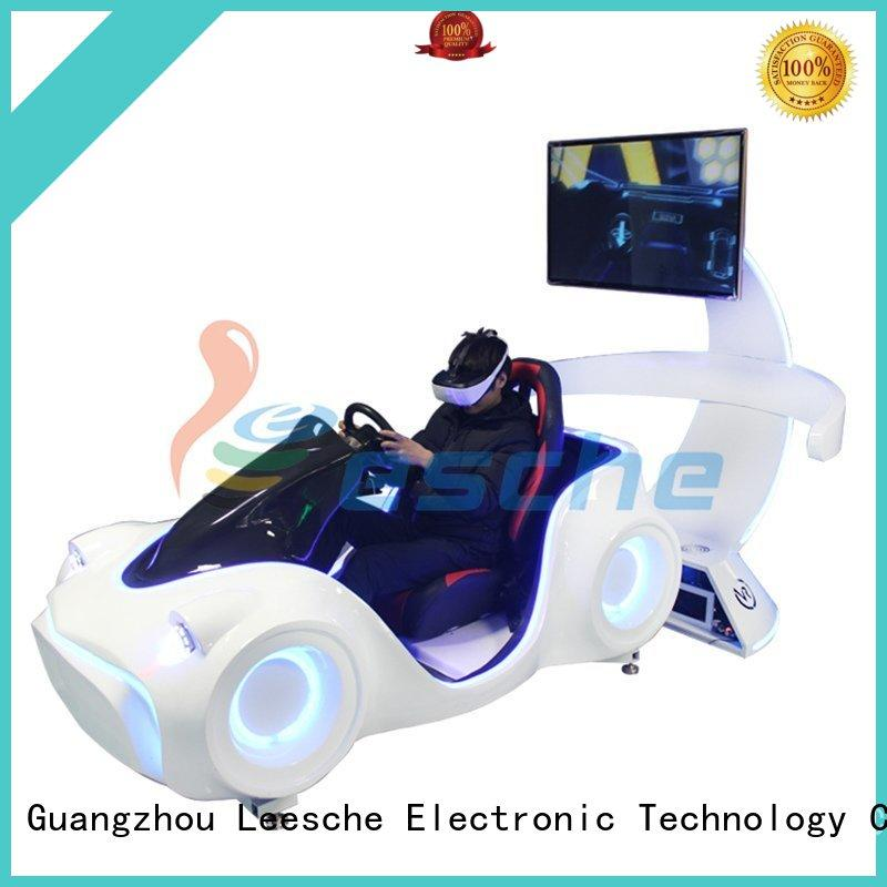 dynamic car racing game machine vr with unique freedom electric motion-based dynamic platform in Shopping mall