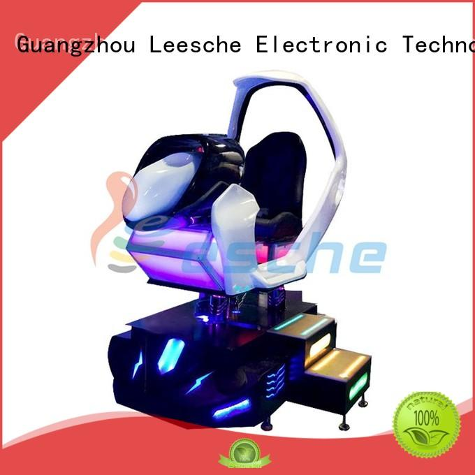screens virtual car racing simulator suitable for people from age 10 to 45 in Shopping mall Leesche