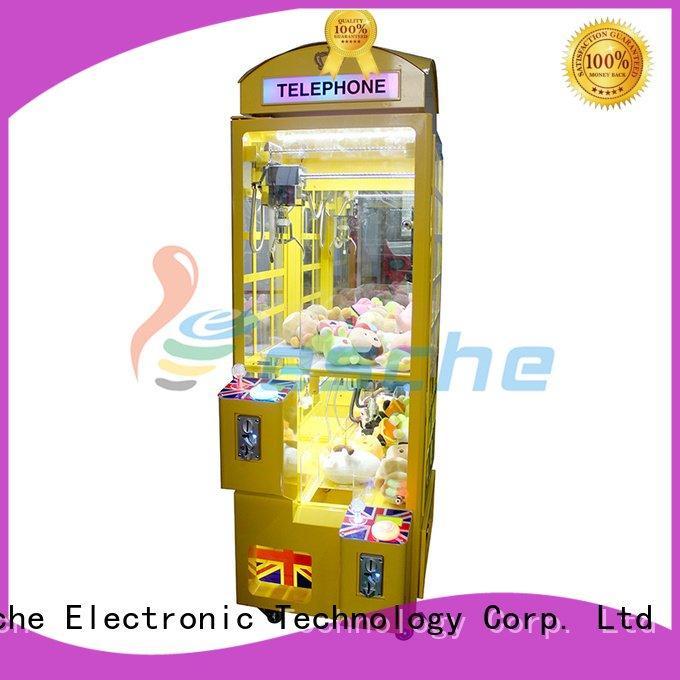 Custom crane the claw machine acceptor claw arcade game