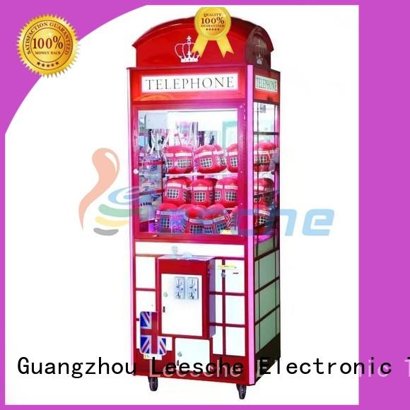 Leesche newest prize machine games with lock on the street