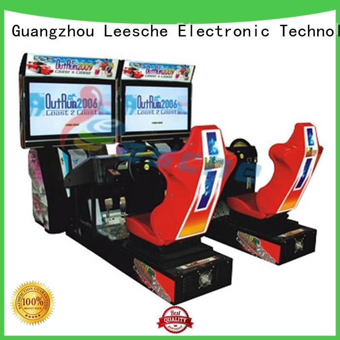 high quality 55 classic arcade game machines driving Leesche company