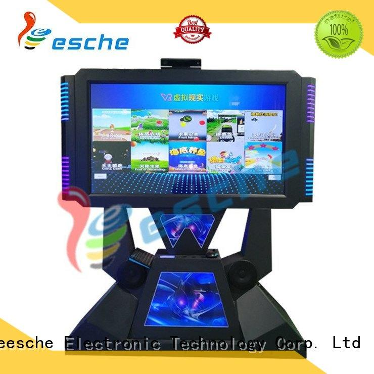 newest arcade dance machine for sale machine with special effect and vr glasses in Shopping mall