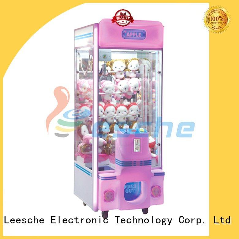 claw arcade game crane toy OEM the claw machine Leesche