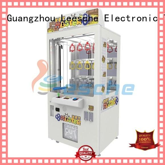 Leesche durable claw machine cost inspiring your imagination in Shopping mall