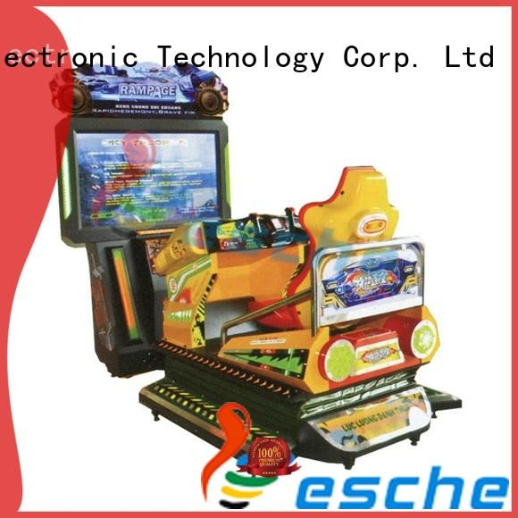 Leesche vivide arcade video game machines easy operated on the street