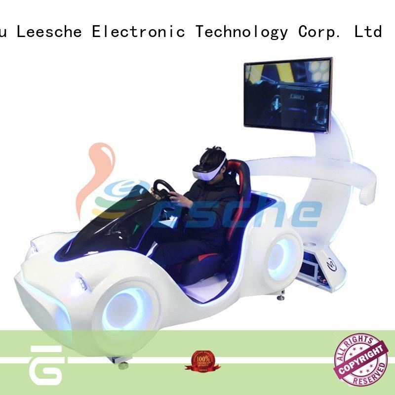 arrival racing simulator wheel virtual in Shopping mall Leesche