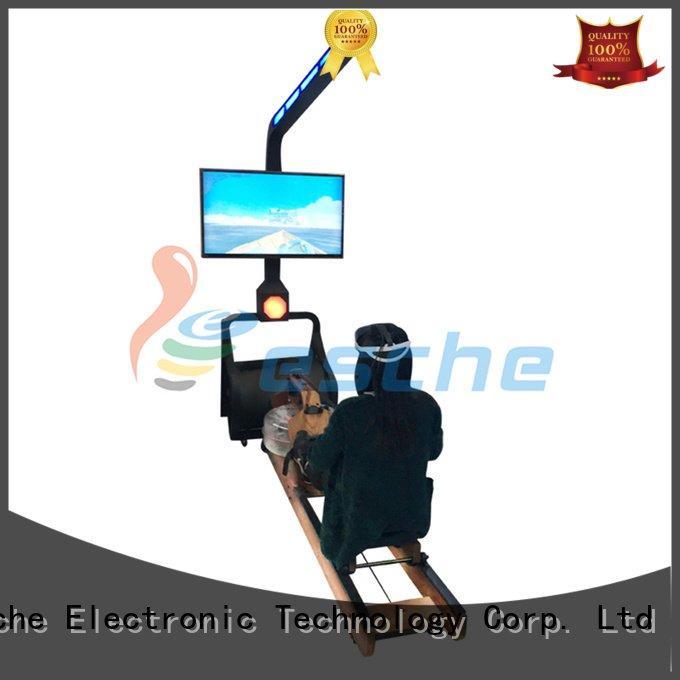 Leesche Brand simulator vr games with controller slide water