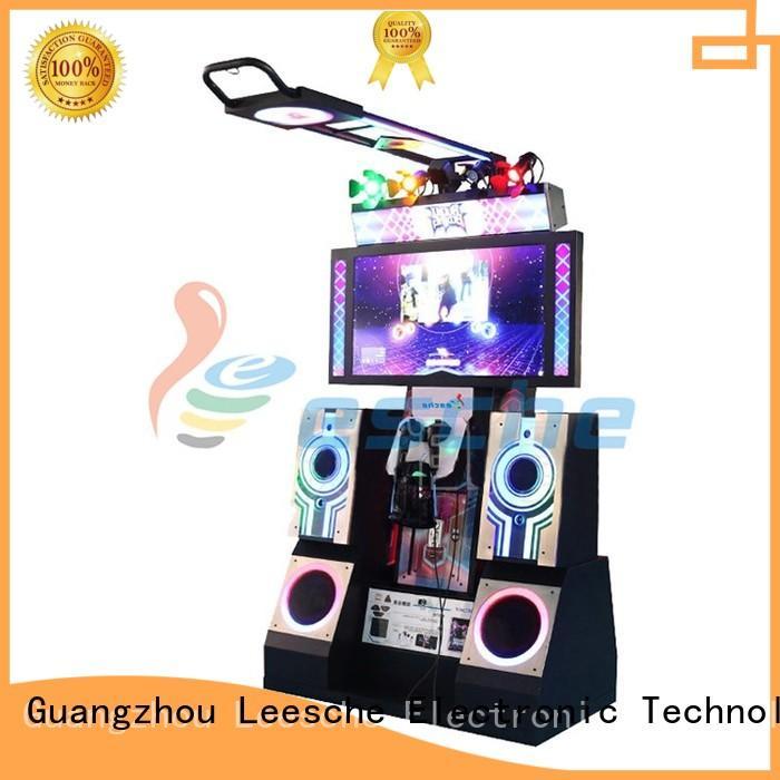 pitching degree operated luxurious Leesche Brand arcade machine supplier