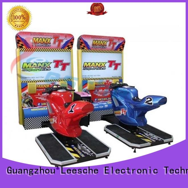 earning classic arcade game machines driving Leesche company