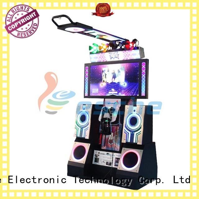 hockey gun dance dance revolution arcade machine Leesche manufacture