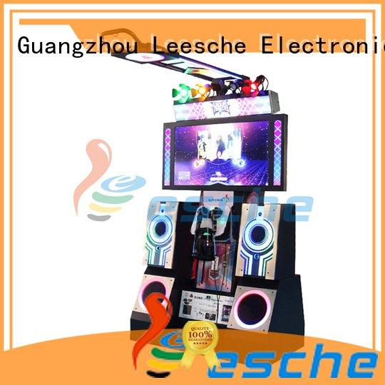 Leesche Brand 9d vr operated dance dance revolution arcade machine