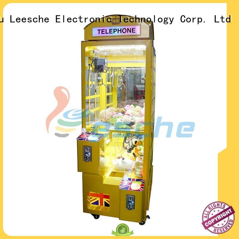 Leesche Brand naughty classic claw the claw machine manufacture