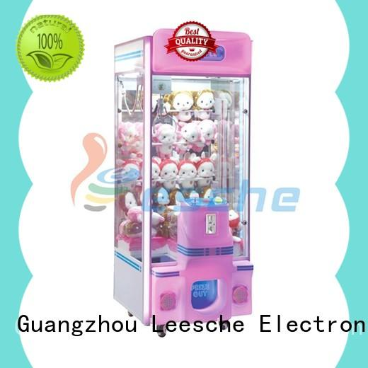Leesche attractive mini claw machine inspiring your imagination on the street