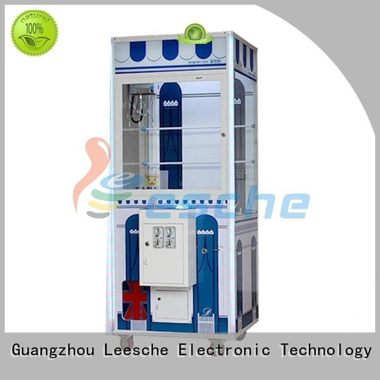 Leesche OEM arcade prize machines with lock in Shopping mall
