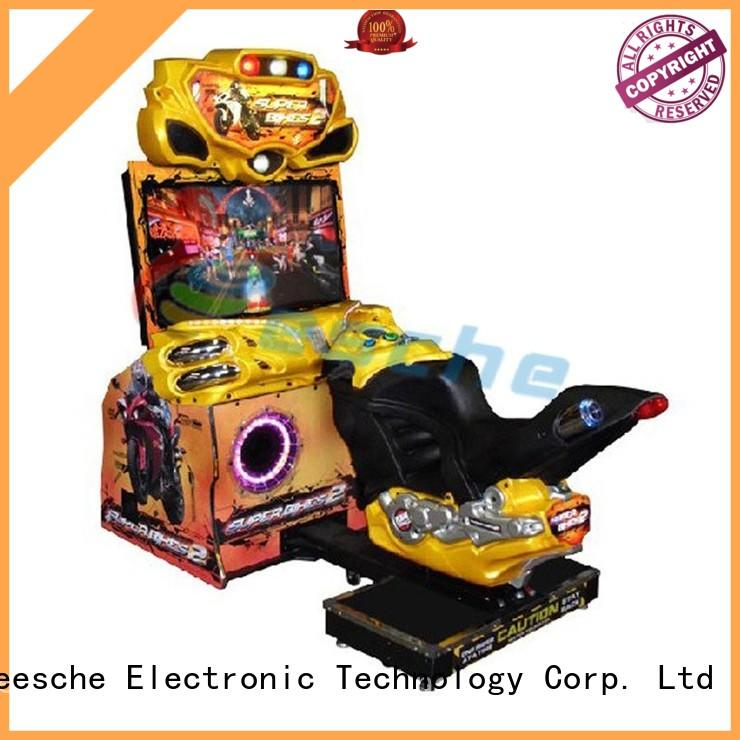 vivide multi game arcade machine candy to let the wheel rotating in the park