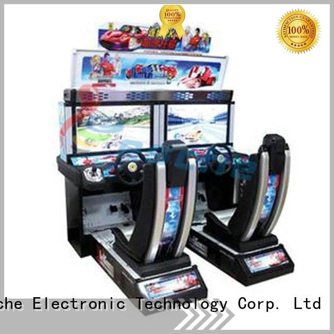 durable buy arcade game machines drive to let the wheel rotating on the street