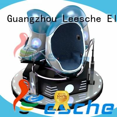 Leesche equipment 9d egg vr cinema making you laugh and scream on the street