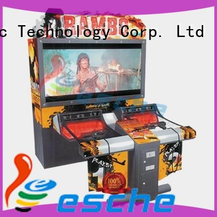 Leesche high quality buy arcade game machines easy operated on the street