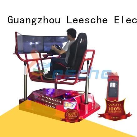Leesche Brand duck horse hummer experience horseback riding simulator
