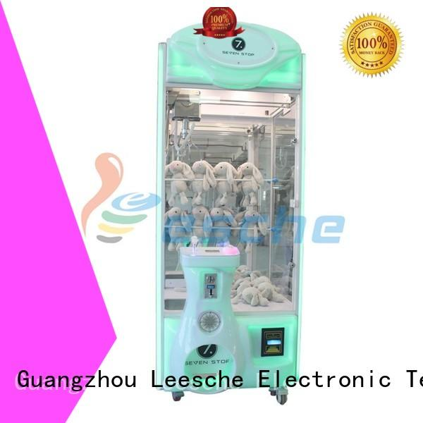 Leesche Brand reality electronic the claw machine manufacture