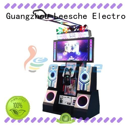 Leesche game dance dance revolution arcade with the dynamic platform motions in the park