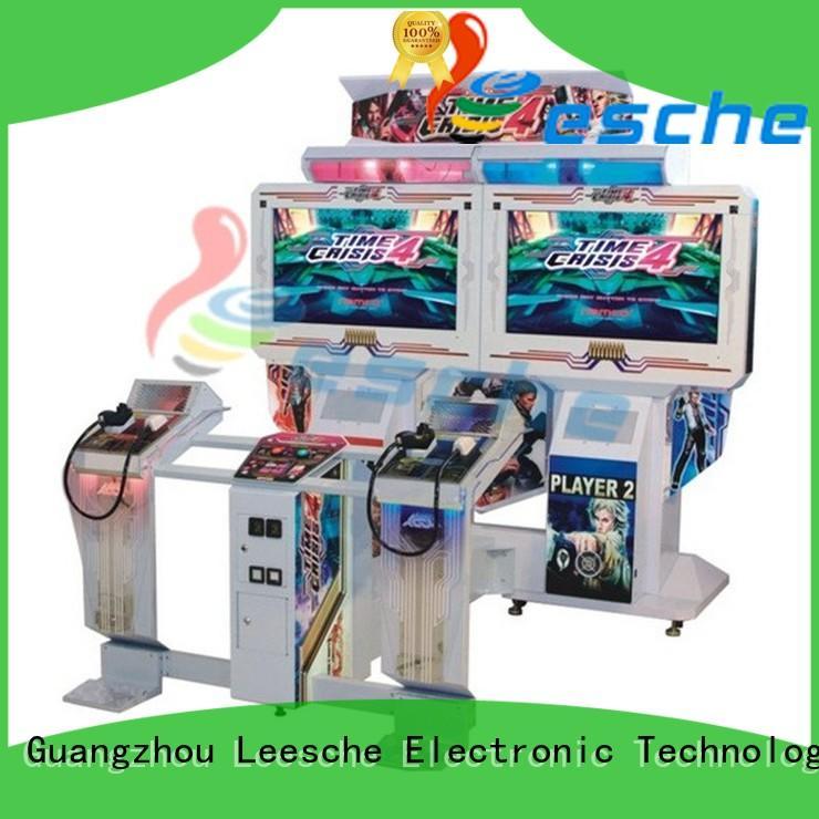 hero hunting operated arcade machine Leesche Brand company