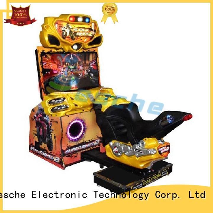 Leesche good machine arcade frog in Shopping mall