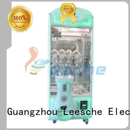 Leesche Brand time claw arcade game vive supplier