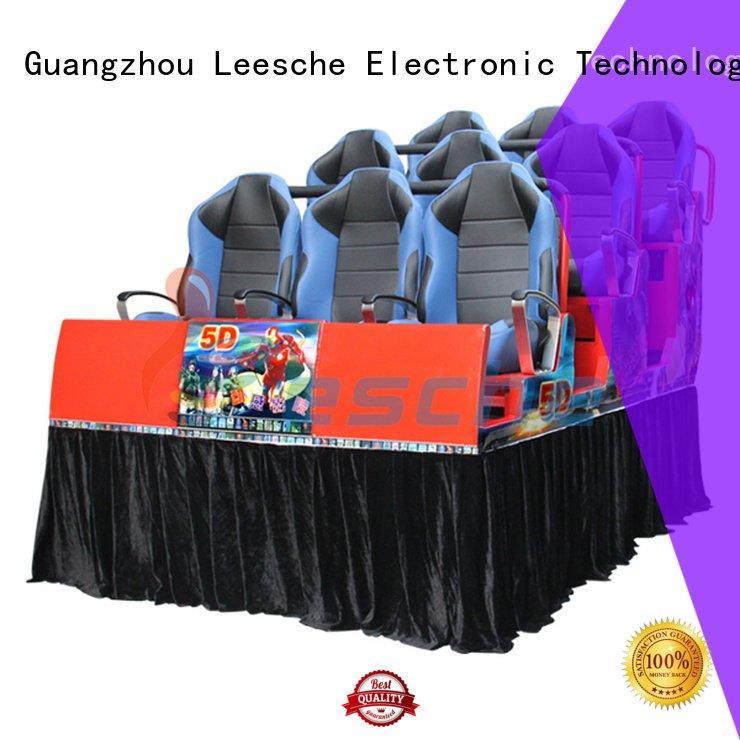 Leesche Brand seats 7d cinema 3d truck motion