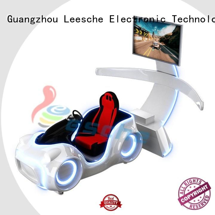 durable car racing game machine on the street