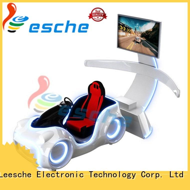 amusement auto racing simulator on the street