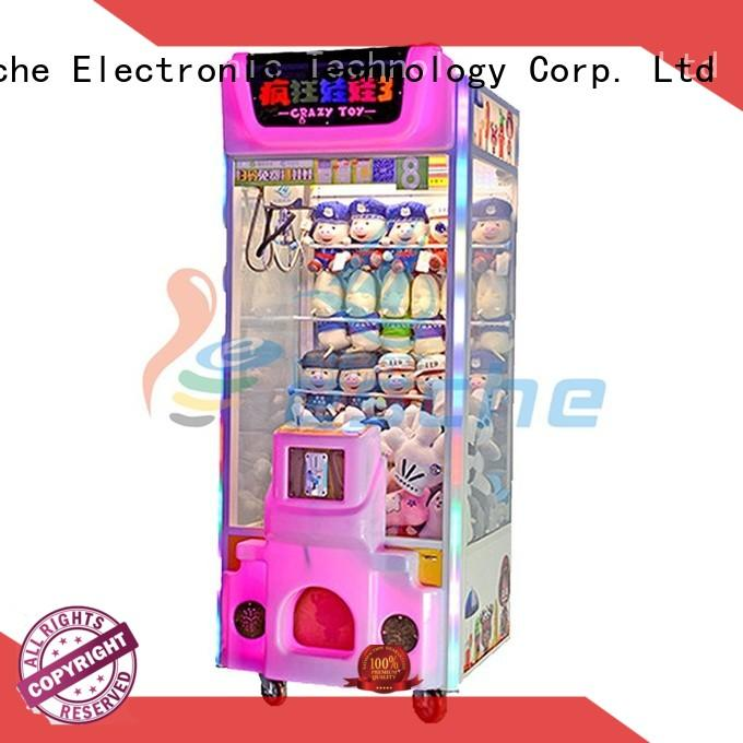 Leesche games electronic claw game inspiring your imagination in the park