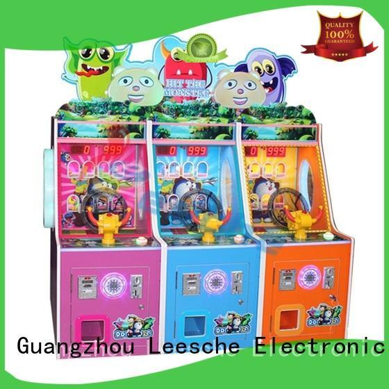 Custom somatosensory arcade machine slide Leesche